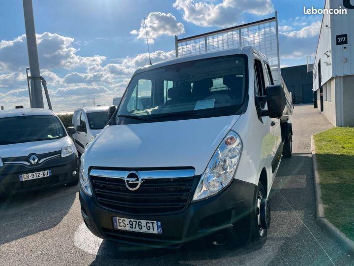 Opel Movano benne double cabine 47.000km  - 2