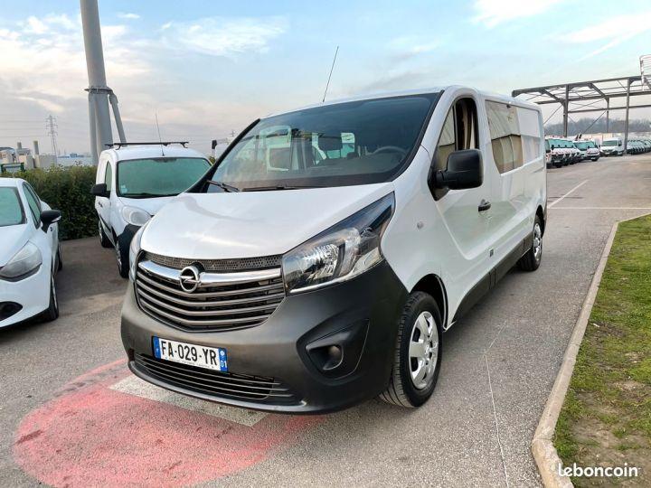 Opel Vivaro 6 places cabine approfondie 2018  - 2