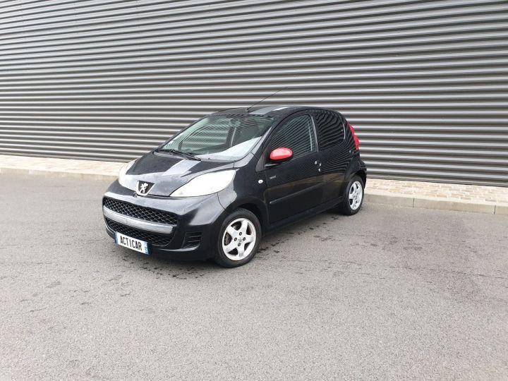 Peugeot 107 ii 2 1.0 68 sportium 5 portes Noir Occasion - 1