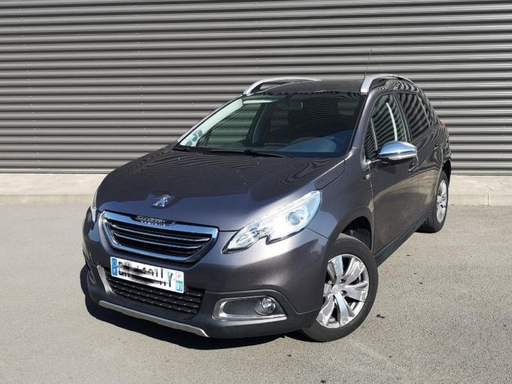Peugeot 2008 1.2 VTI 82 STYLE ii Gris Occasion - 1
