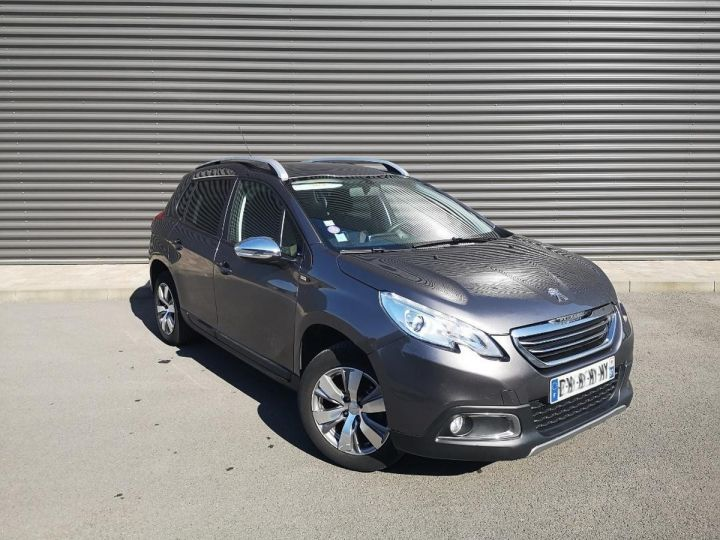 Peugeot 2008 1.2 VTI 82 STYLE ii Gris Occasion - 6