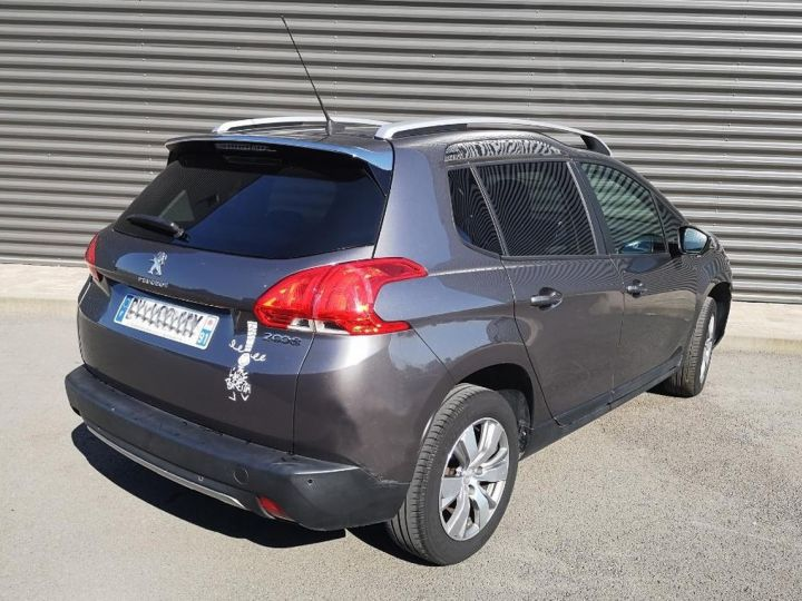 Peugeot 2008 1.2 VTI 82 STYLE ii Gris Occasion - 7