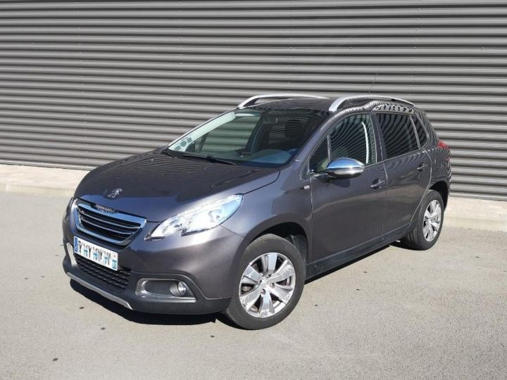 Peugeot 2008 1.2 VTI 82 STYLE ii Gris Occasion - 12