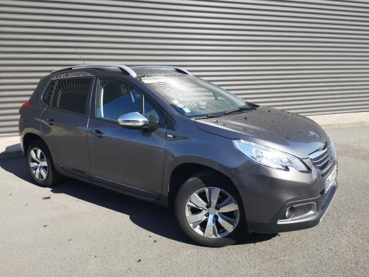 Peugeot 2008 1.2 VTI 82 STYLE ii Gris Occasion - 13