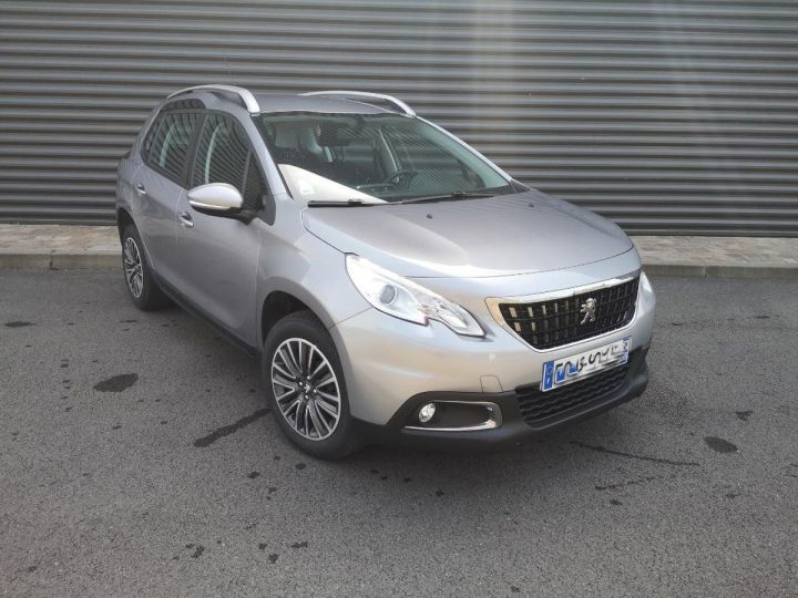 Peugeot 2008 1.6 hdi 75 ACTIVE Gris Occasion - 6