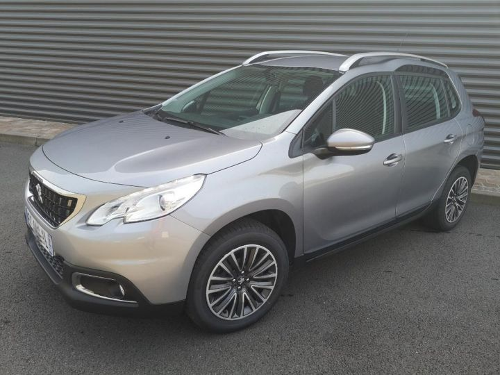 Peugeot 2008 1.6 hdi 75 ACTIVE Gris Occasion - 11