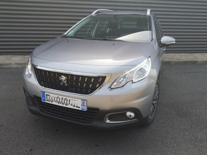 Peugeot 2008 1.6 hdi 75 ACTIVE Gris Occasion - 12