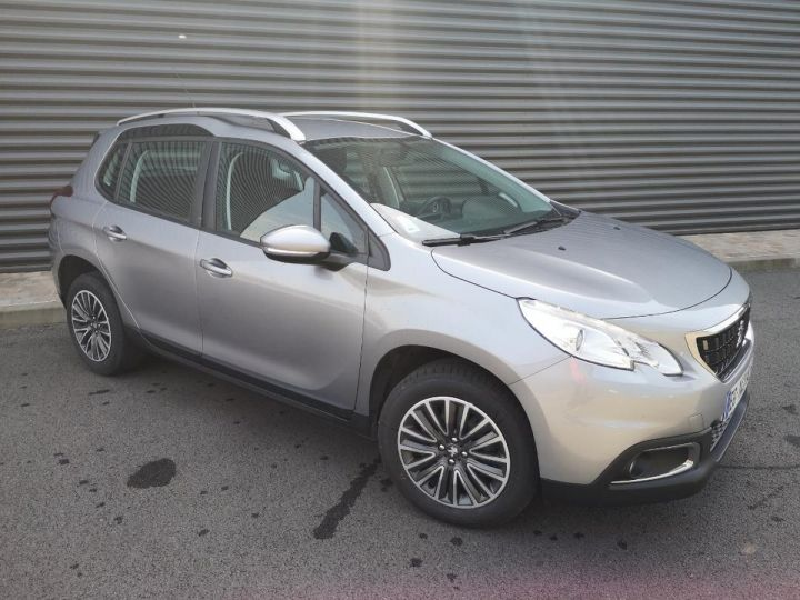 Peugeot 2008 1.6 hdi 75 ACTIVE Gris Occasion - 14