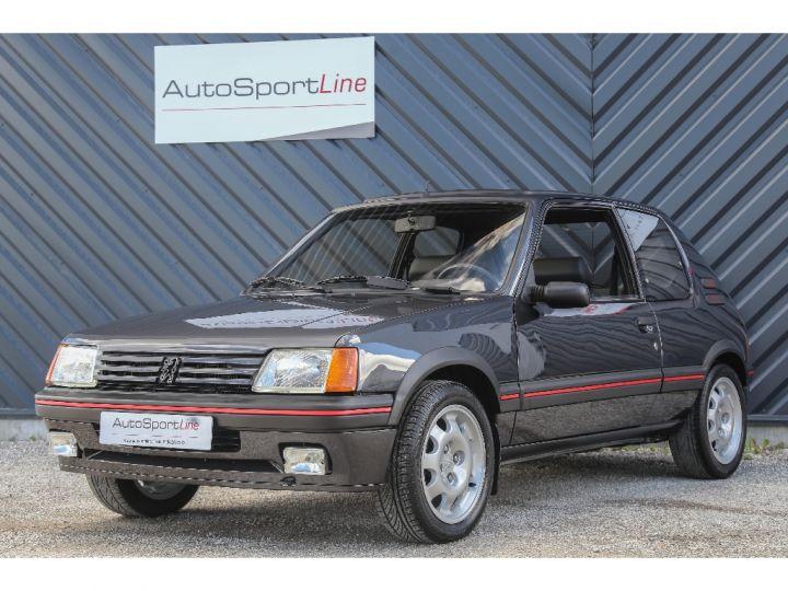 Peugeot 205 1.9 GTI 1° MAIN Gris Foncé - 1