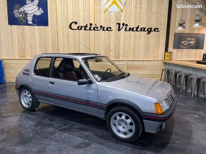 Peugeot 205 1.9 Gti 130cv grise futura Gris - 1