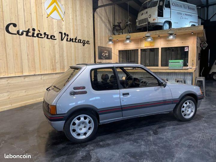 Peugeot 205 1.9 Gti 130cv grise futura Gris - 2