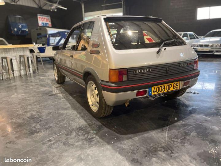 Peugeot 205 1.9 Gti 130cv grise futura Gris - 3