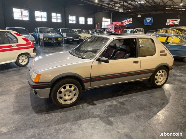 Peugeot 205 1.9 Gti 130cv grise futura Gris - 4