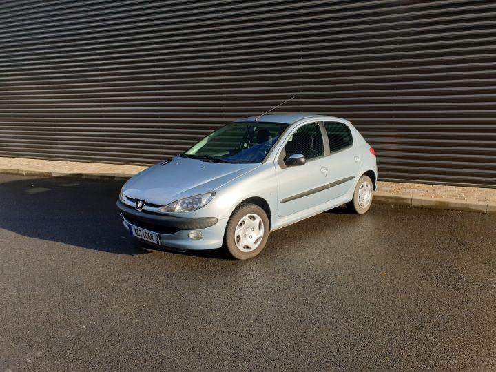 Peugeot 206 1.4 75 ch x line clim 5 portes i Gris Occasion - 1