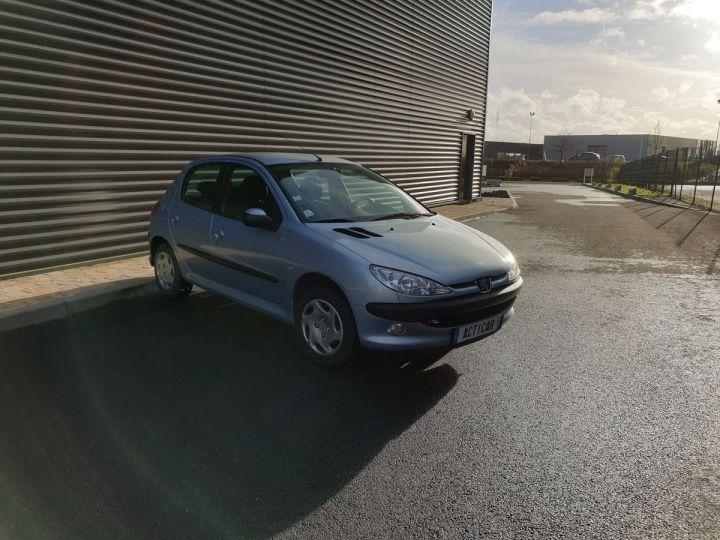 Peugeot 206 1.4 75 ch x line clim 5 portes i Gris Occasion - 2