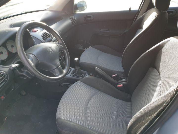 Peugeot 206 1.4 75 ch x line clim 5 portes i Gris Occasion - 8