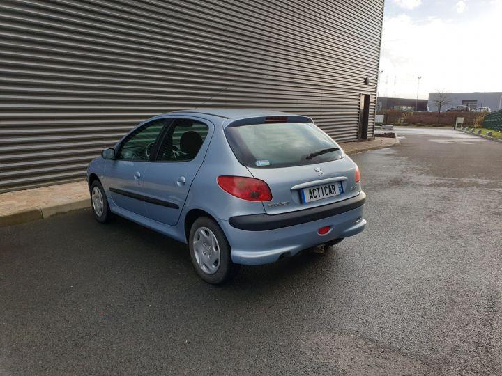 Peugeot 206 1.4 75 ch x line clim 5 portes i Gris Occasion - 14