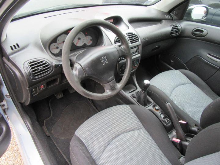Peugeot 206 1.4 URBAN 5P Gris C Occasion - 2