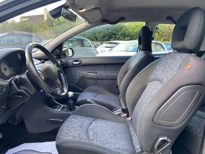 Peugeot 206 1.6 HDI QUIKSILVER FAP 3P Gris C - 7