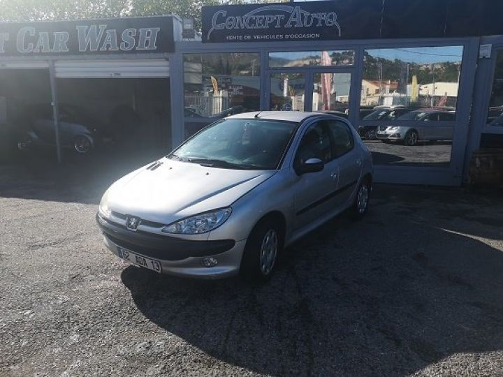 Peugeot 206 GRIS METAL Occasion - 2