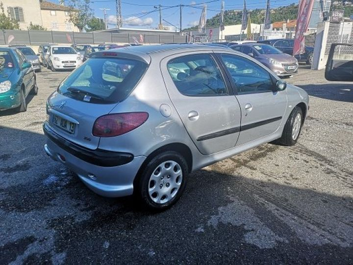 Peugeot 206 GRIS METAL Occasion - 4