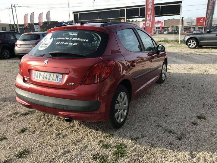 Peugeot 207 1.6 HDI 90CH6 HDI 90CH BORDEAUX METAL  Occasion - 3