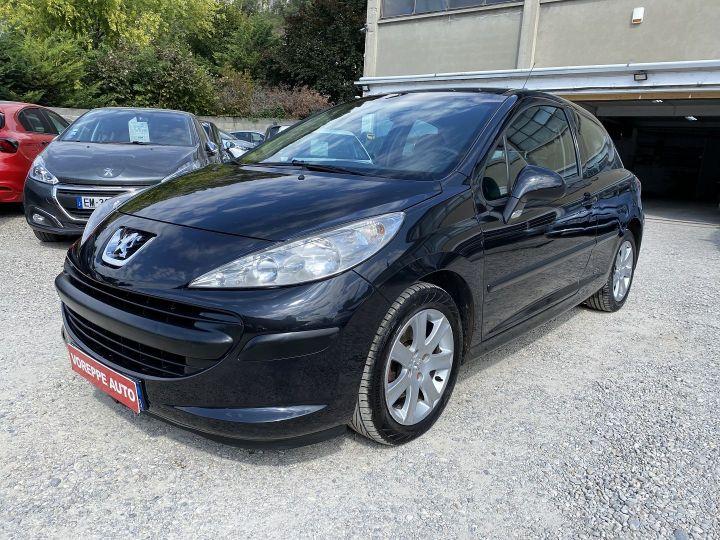 Peugeot 207 1.6 HDI110 GRIFFE FAP 3P Noir - 1