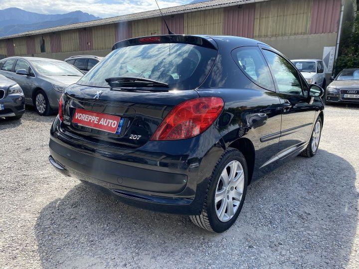 Peugeot 207 1.6 HDI110 GRIFFE FAP 3P Noir - 4