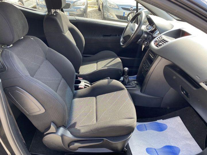 Peugeot 207 1.6 HDI110 GRIFFE FAP 3P Noir - 10