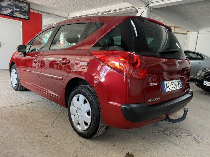 Peugeot 207 1.6 HDI90 ACTIVE 5P Rouge - 4