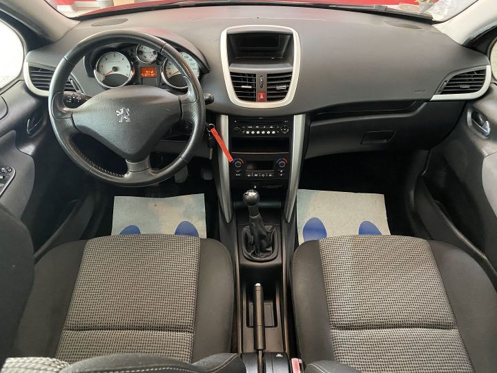 Peugeot 207 1.6 HDI90 ACTIVE 5P Rouge - 7
