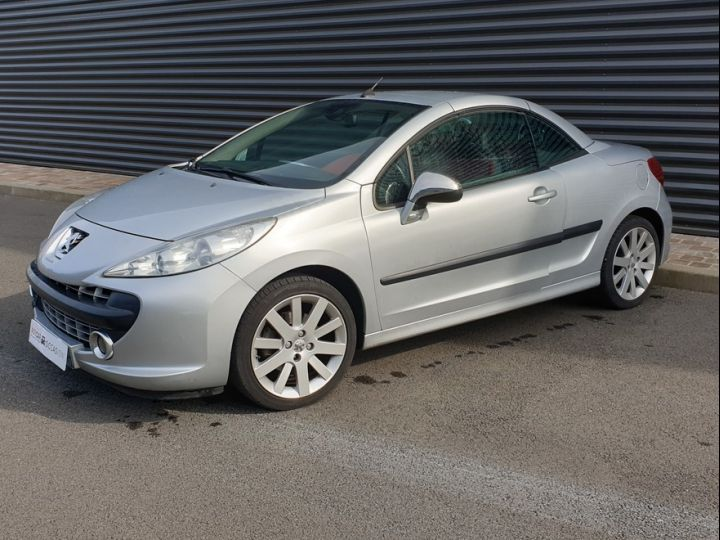 Peugeot 207 CC 1.6 thp 150 feline iii Gris Clair Occasion - 1