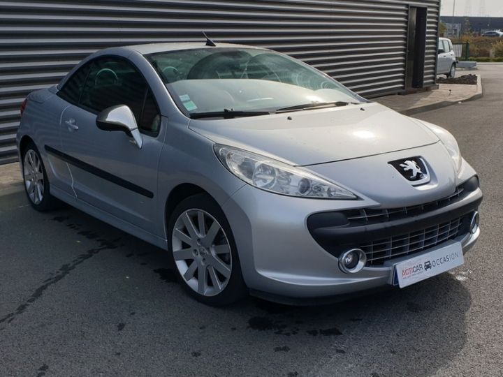 Peugeot 207 CC 1.6 thp 150 feline iii Gris Clair Occasion - 2