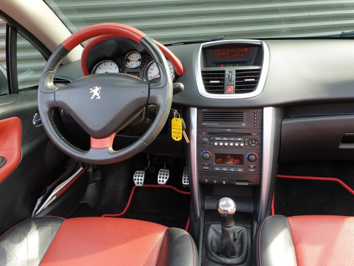 Peugeot 207 CC 1.6 thp 150 feline iii Gris Clair Occasion - 6