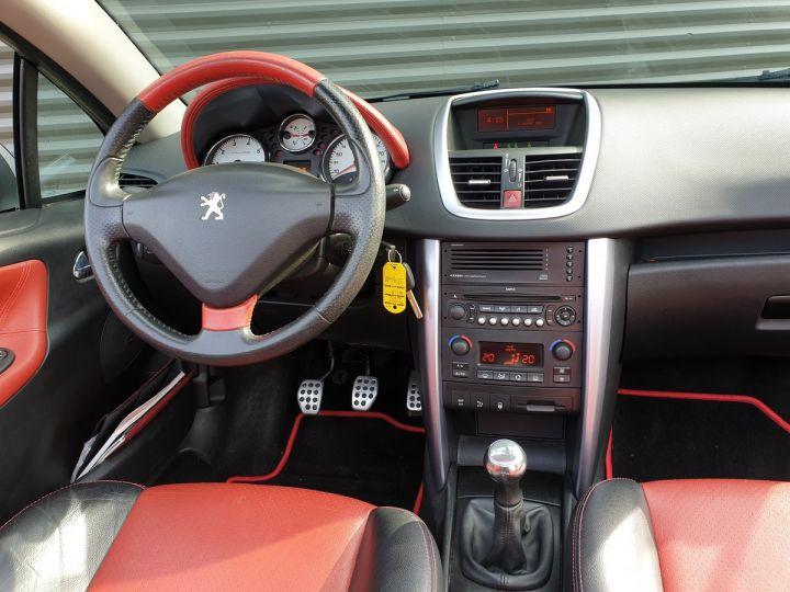 Peugeot 207 CC 1.6 thp 150 feline oi Gris Clair Occasion - 6