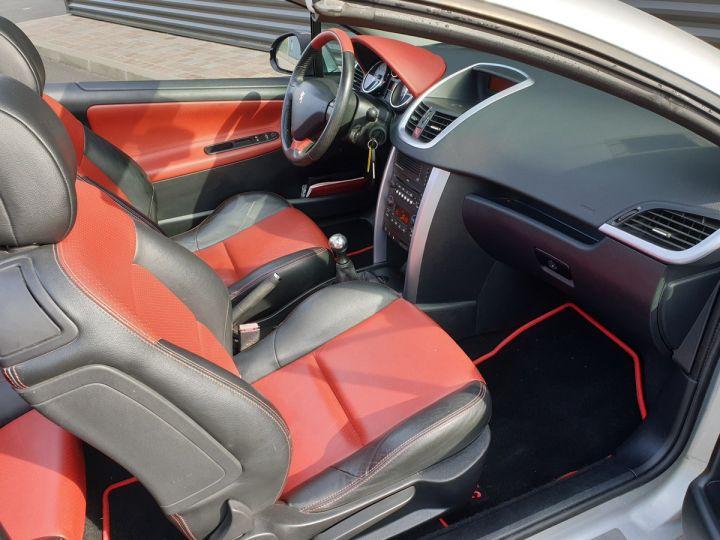 Peugeot 207 CC 1.6 thp 150 feline oi Gris Clair Occasion - 7