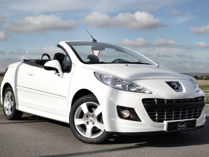 Peugeot 207 CC FACELIFT 1.6 16v 120ch Blanc - 1
