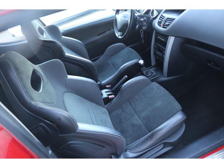 Peugeot 207 RC 175 cv 1.6 16V Rouge - 9