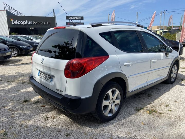 Peugeot 207 SW OUTDOOR Blanc  Occasion - 3