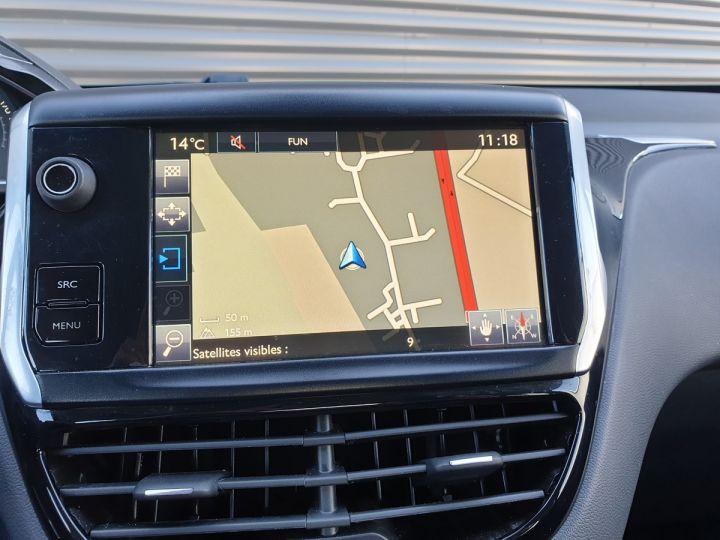 Peugeot 208 1.2 82 allure 5p i Gris Anthracite Occasion - 7