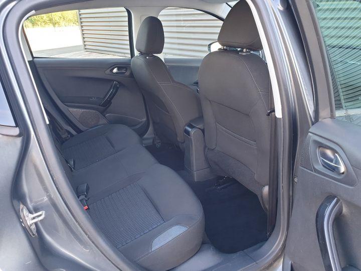 Peugeot 208 1.2 82 allure 5p i Gris Anthracite Occasion - 12