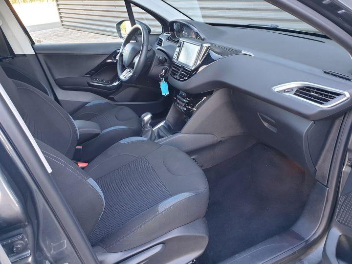 Peugeot 208 1.2 82 allure 5p i Gris Anthracite Occasion - 14