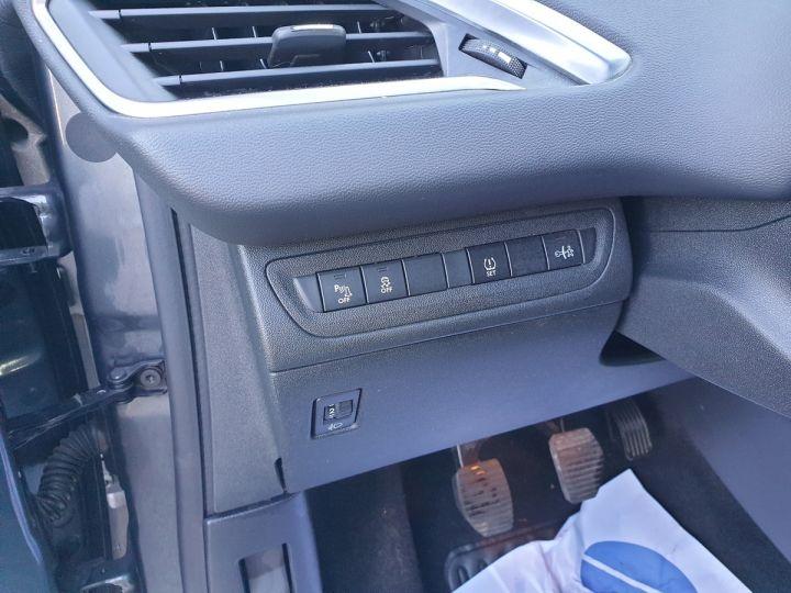 Peugeot 208 1.2 82 allure 5p i Gris Anthracite Occasion - 17