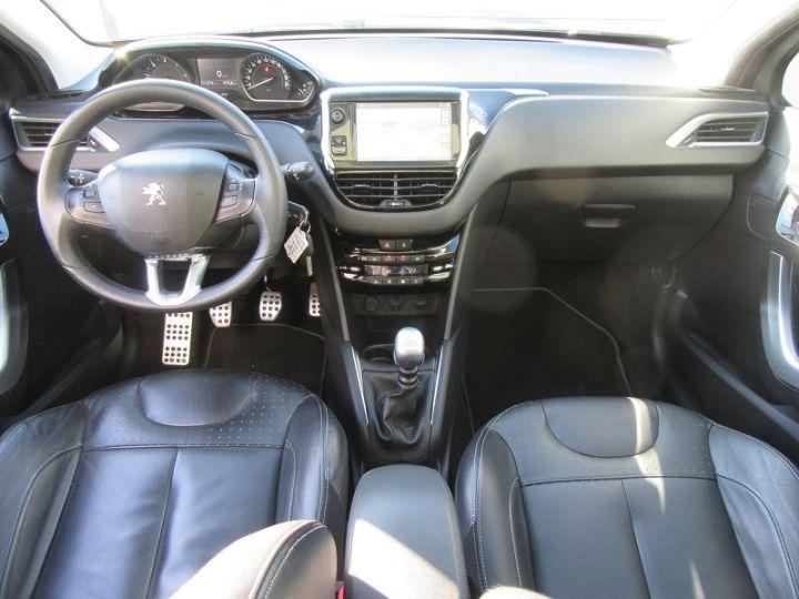 Peugeot 208 1.6 E-HDI115 FAP ICE VELVET 3P Bordeau Occasion - 8