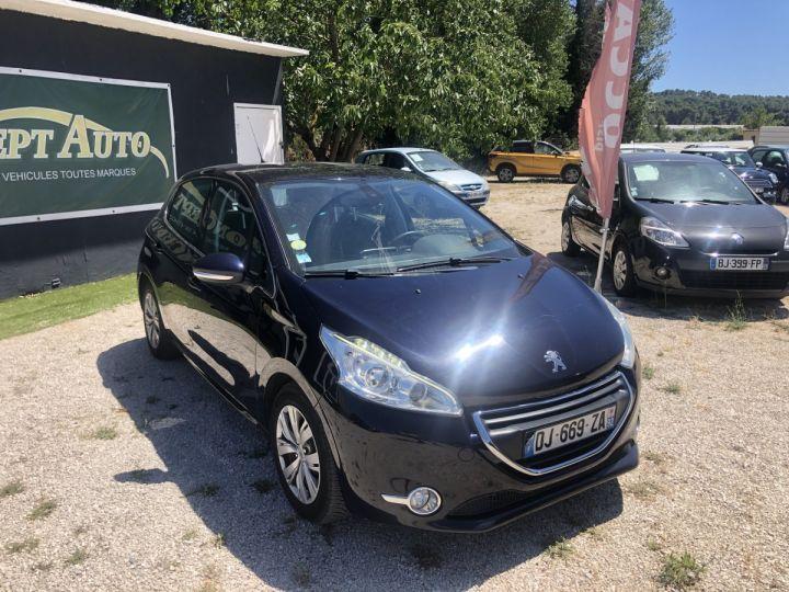 Peugeot 208 BLEU FONCE METAL Occasion - 1
