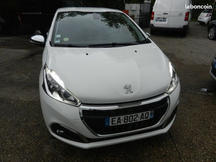 Peugeot 208 allure business garantie 12 mois Blanc - 1