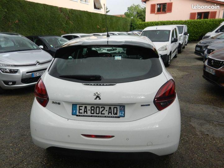Peugeot 208 allure business garantie 12 mois Blanc - 5