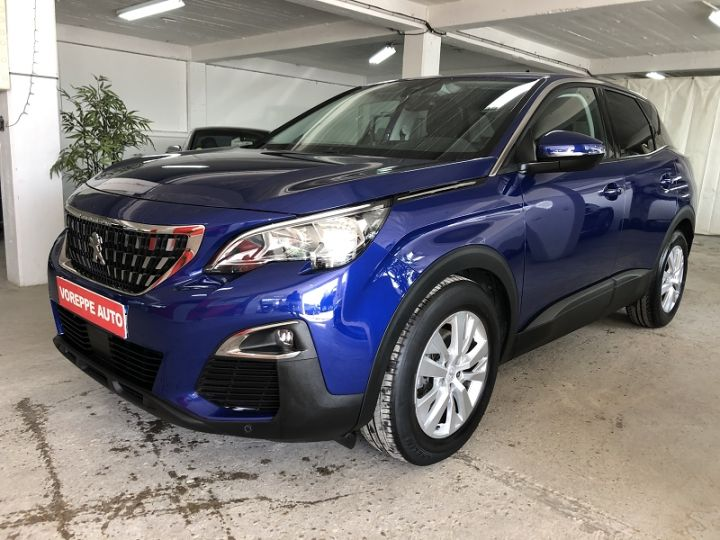 Peugeot 3008 1.6 BLUEHDI 120CH ALLURE BUSINESS S&S EAT6 Bleu - 1