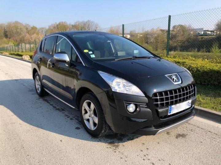 Peugeot 3008 16 HDI 112 ALLURE Noir Occasion - 1