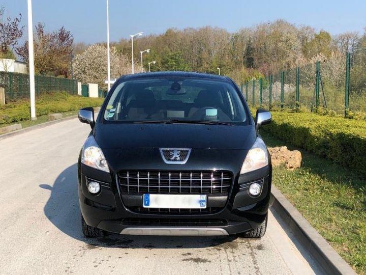 Peugeot 3008 16 HDI 112 ALLURE Noir Occasion - 9